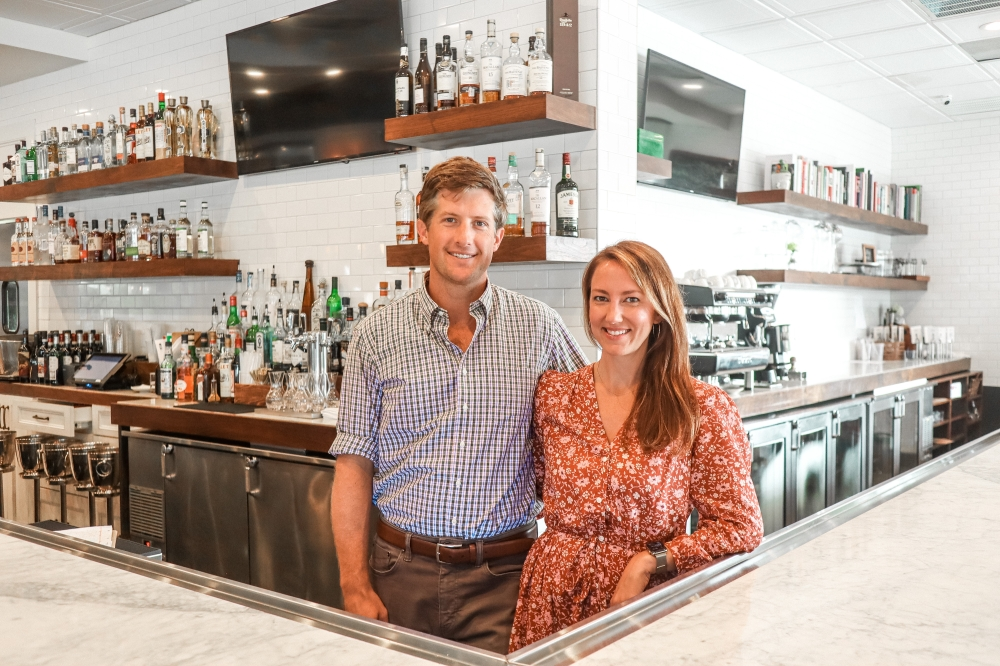 Dustin and Addie Teague are celebrating the 5-year anniversary of the River Oaks-based Relish Restaurant & Bar. (Courtesy Relish Restaurant & Bar)