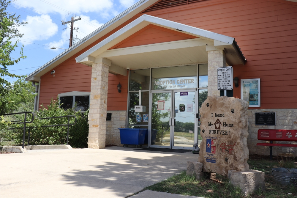 The San Marcos Regional Animal Shelter is set to begin renovations Oct. 25. (Zara Flores/Community Impact Newspaper)