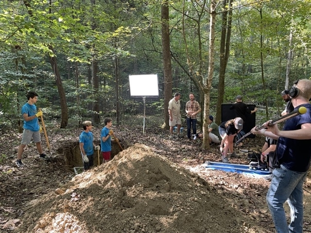 """""""Camp Hideout"""" has been filming scenes in and around Franklin. (Courtesy Called Higher Studios)"""