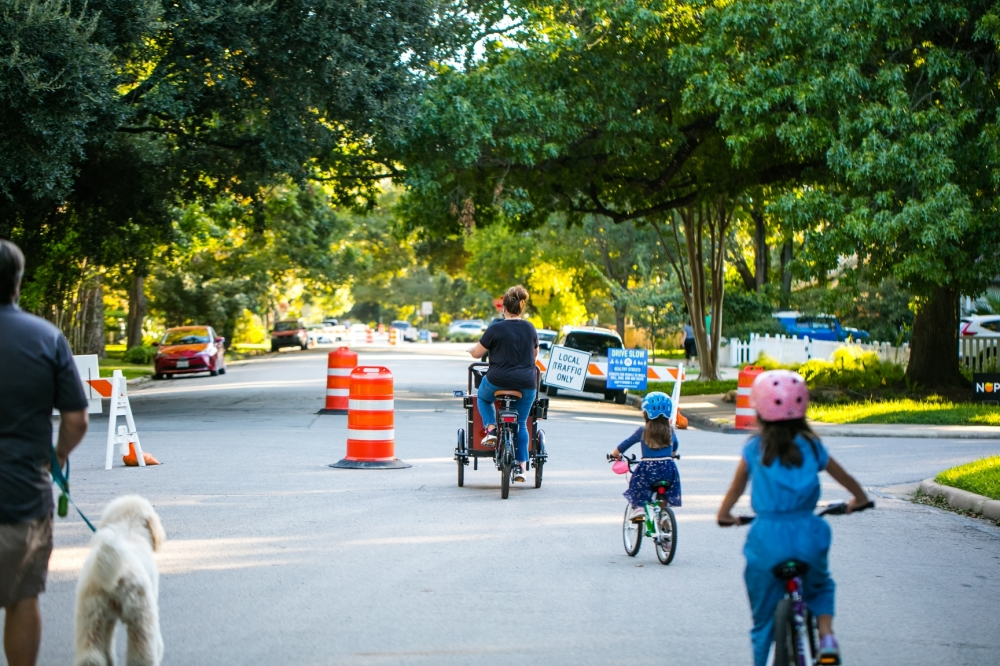 The plan calls for traffic control methods to make streets safer for pedestrians and cyclists. (Courtesy Living Streets)