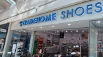 entrance to Tradehome Shoes store