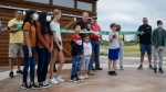 Frisco Mayor Jeff Cheney attended a ribbon-cutting ceremony for The Harvest at Frisco Commons, and said the vision for Frisco Commons Park has always been to unite multiple generations. (Matt Payne/Community Impact Newspaper)