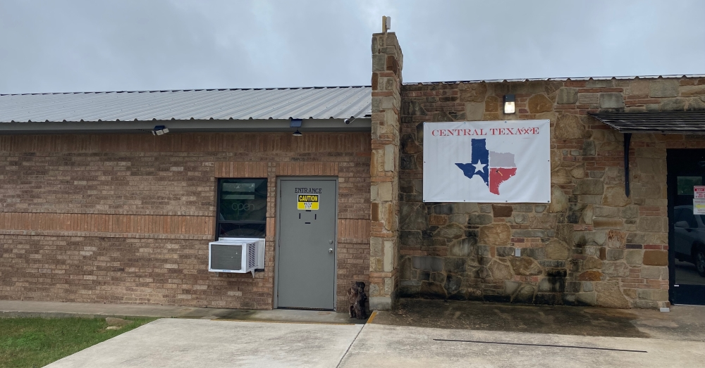 Central TexAXE opened in Round Rock at 3590 Rockin J Ave. on Oct. 1. (Brooke Sjoberg/Community Impact Newspaper)