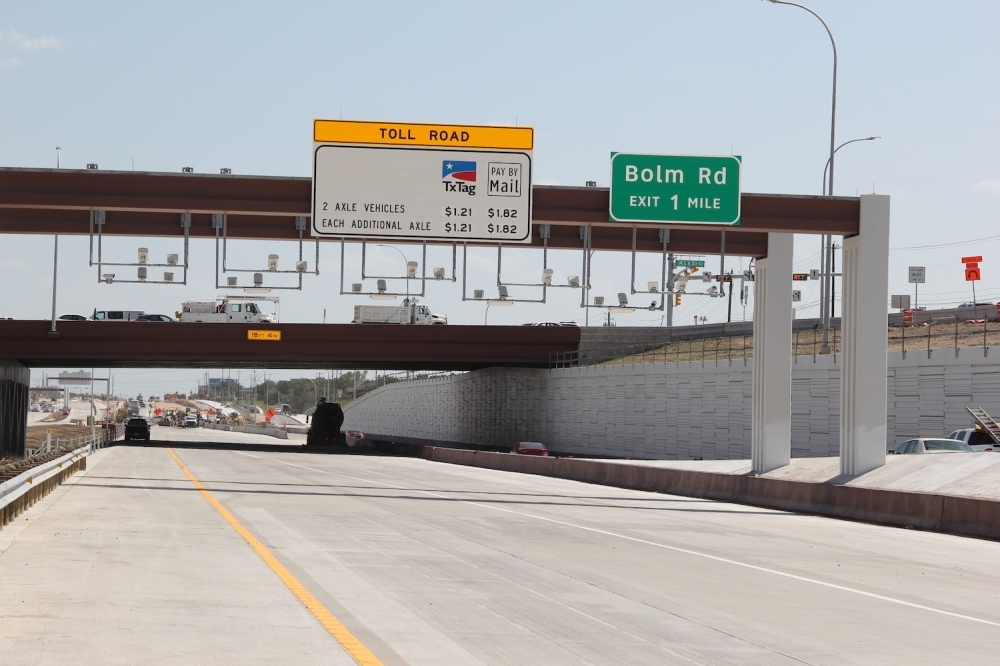 The toll increases are higher this year, as a result of inflation increasing the consumer price index over the past year. (Amy Denney/Community Impact Newspaper)