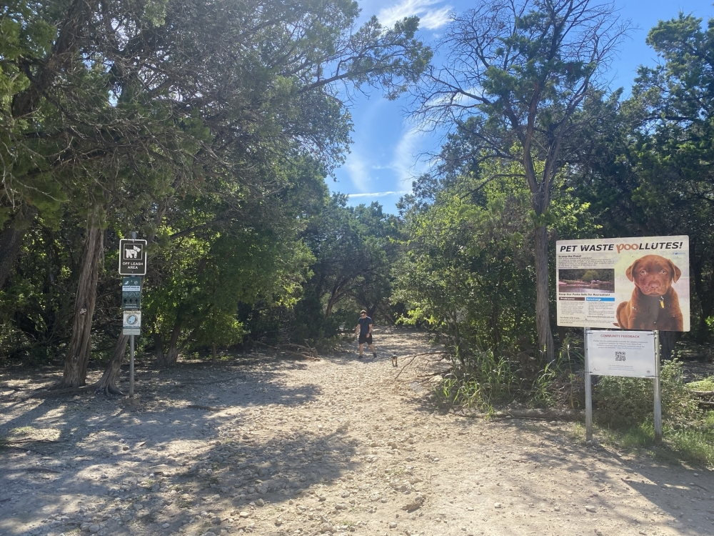 The second segment of the trail was split into two parts due to flood plain issues. The first part is expected to wrap up by the end of 2022.  (Courtesy Austin Public Works Department)