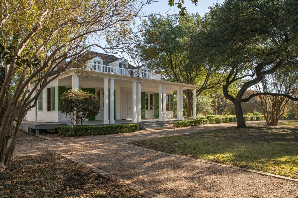 The French Legation State Historical Site will reopen to the public Oct. 30. (Courtesy Texas Historical Commission)
